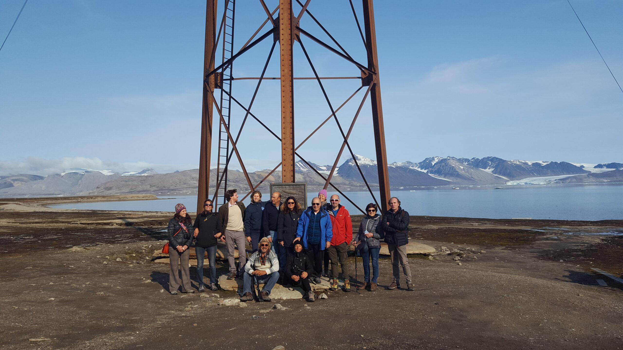Pilone di ormeggio a Ny-Ålesund