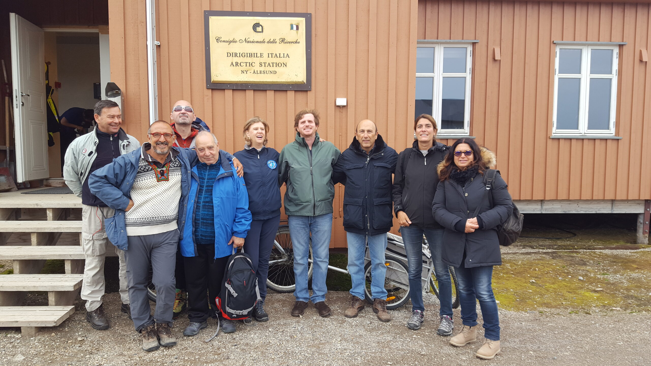 Alla base di ricerca Dirigibile Italia (Ny-Ålesund)